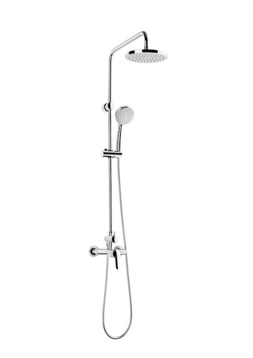 Kolumna prysznicowa z baterią jednouchwytową 56,2x116,5 cm Roca Victoria