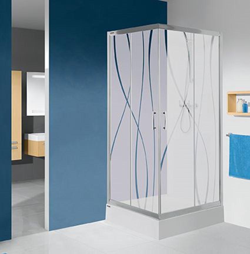 Kabina prysznicowa kwadratowa 80 cm Sanplast TX