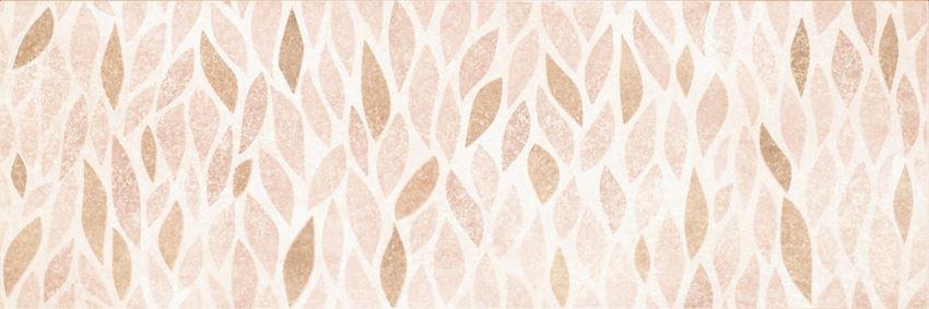Płytka dekoracyjna 25x75 cm Opoczno Ravina Beige Inserto Geo