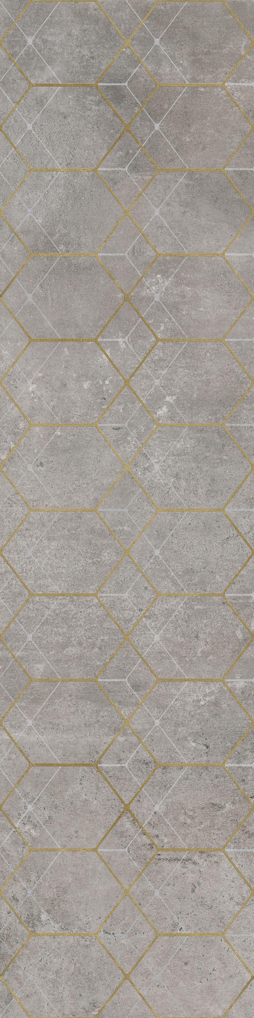 Płytka dekoracyjna Cerrad Softcement silver geo