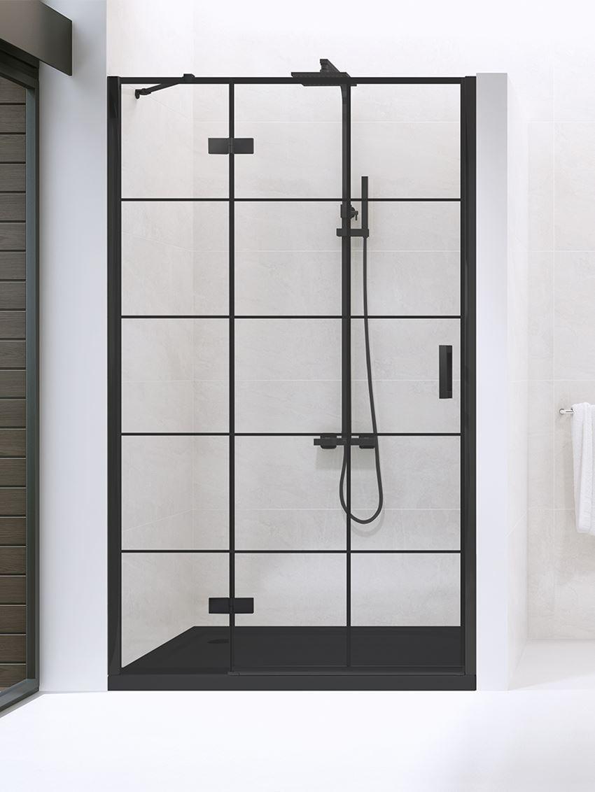 drzwi wnekowe New Trendy New Renoma Black D-0271A