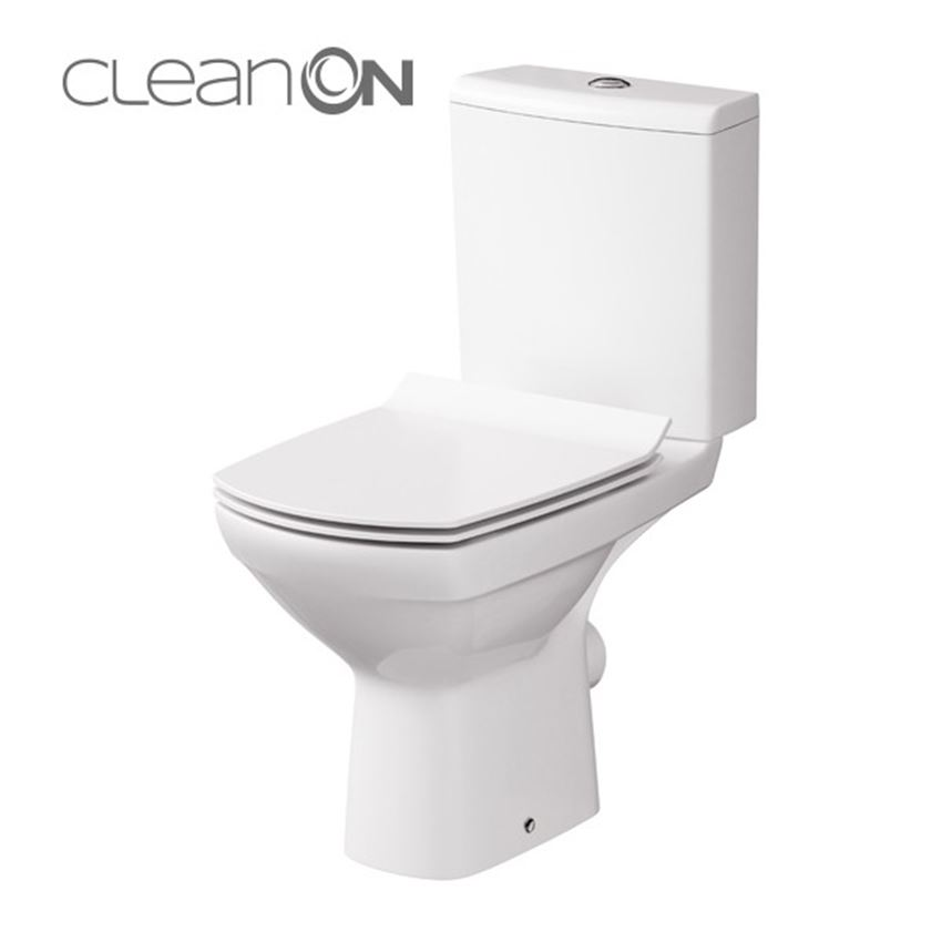 Kompakt CleanOn bez deski Cersanit Carina