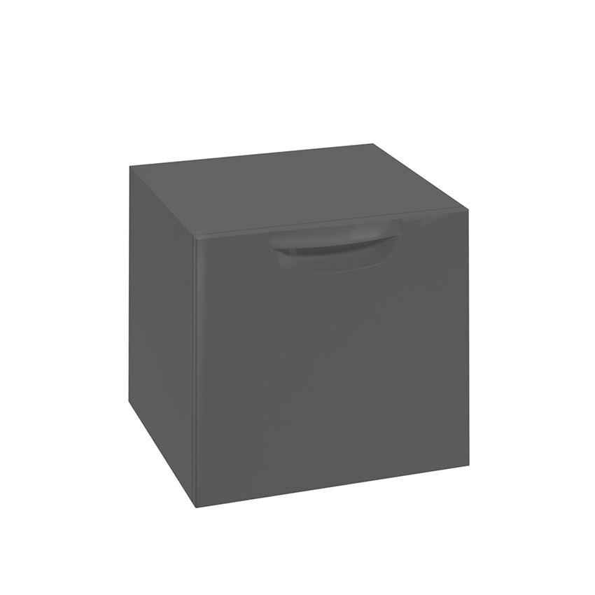 Szafka wisząca grafit połysk 45,1x39x42,8 cm Defra Flou B45