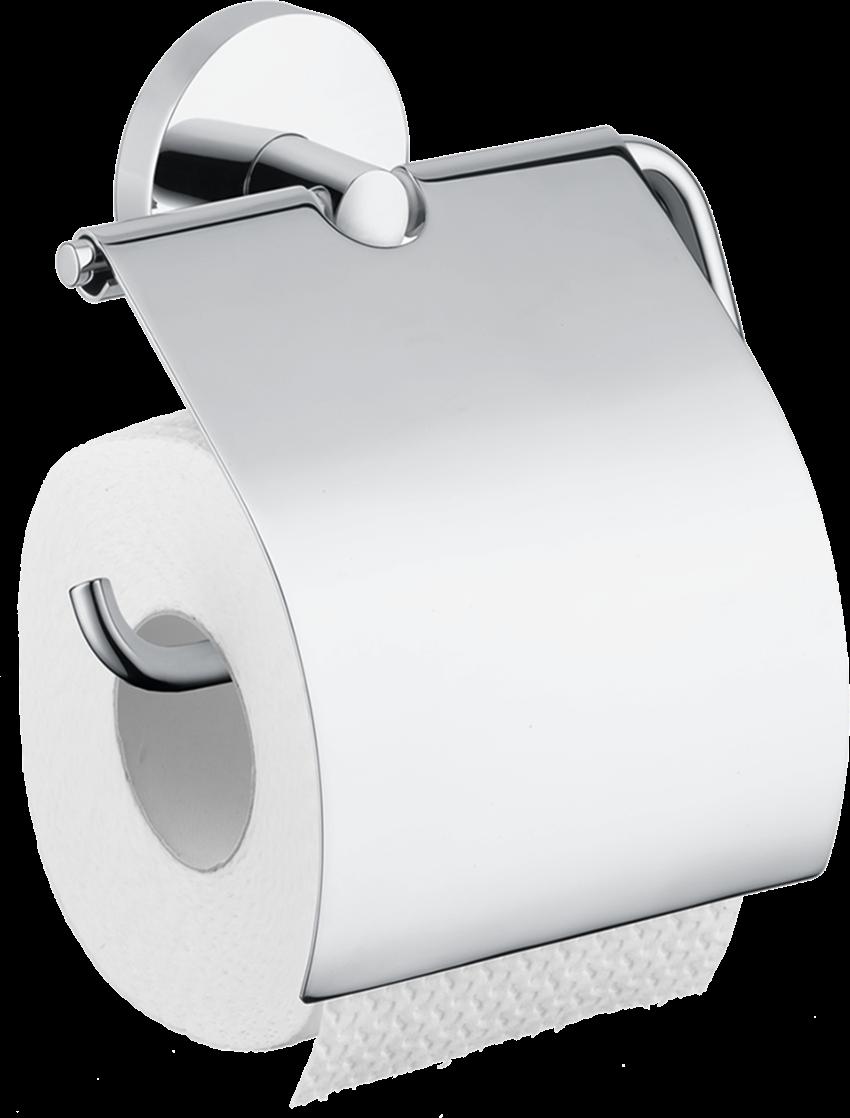 Uchwyt na papier toaletowy z osłonką Hansgrohe Logis