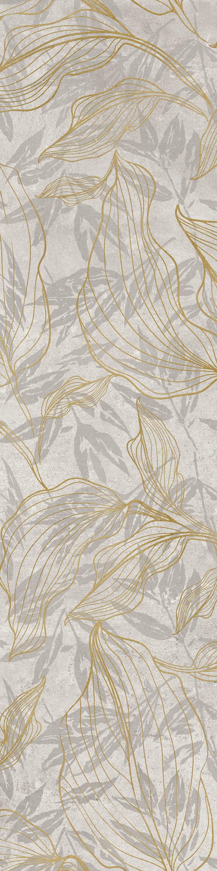 Płytka dekoracyjna Cerrad Softcement white flower 30x120