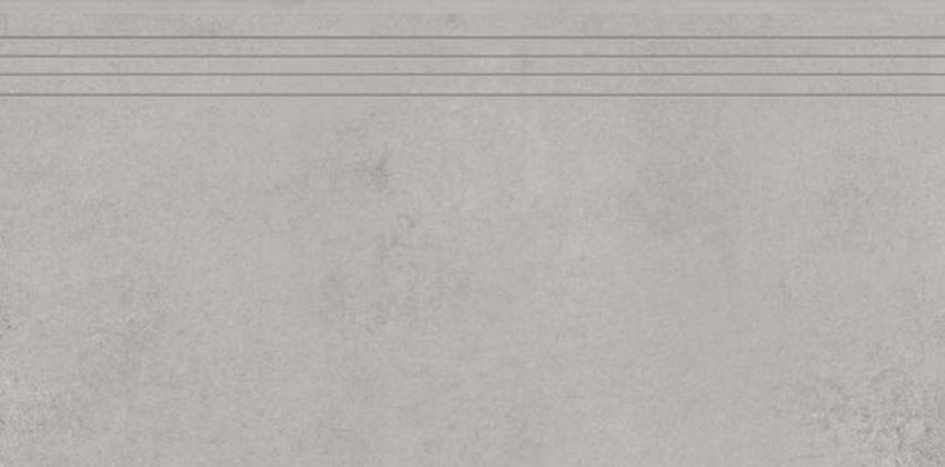 Płytka stopnicowa 29,7x59,7 cm Cerrad Concrete grey