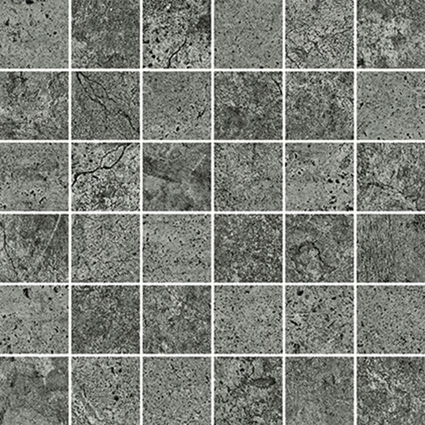 Mozaika 29,8x29,8 cm Opoczno Newstone Graphite Mosaic Matt