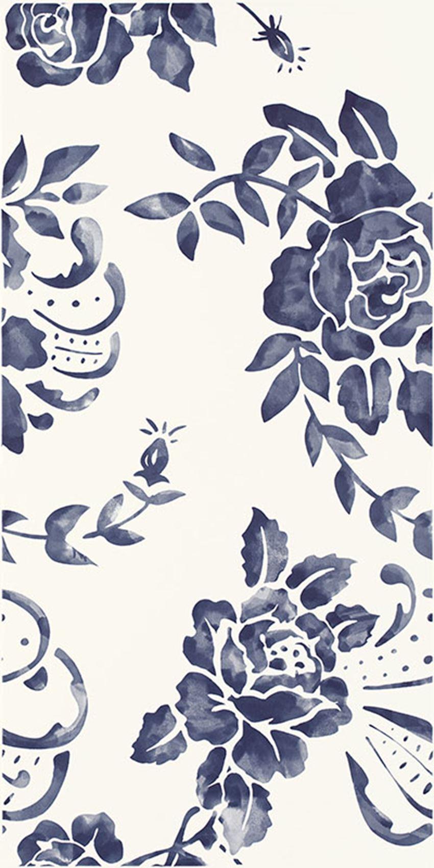 Płytka dekoracyjna Paradyż Porcelano Blue Ściana Dekor