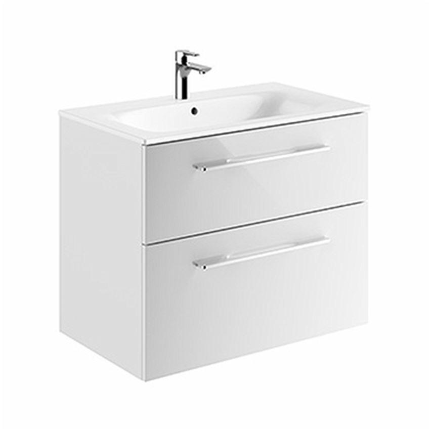 Szafka z umywalką biały połysk 80 Koło Nova Pro Premium