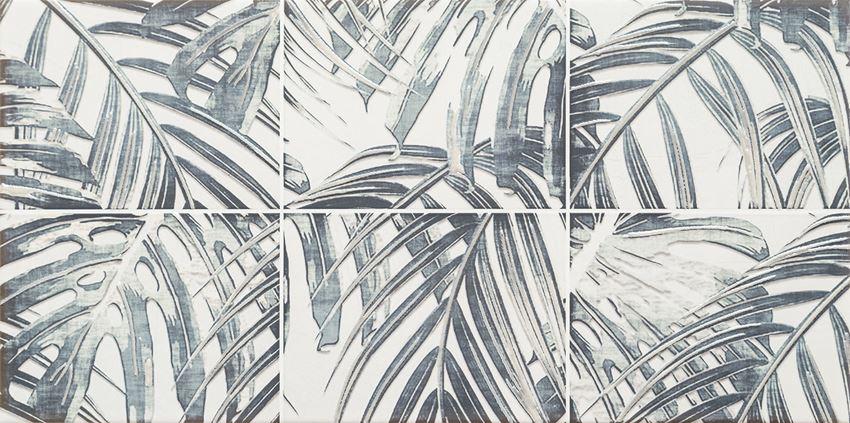 Dekor ścienny 60,8x30,8 cm Domino Idylla grey 2