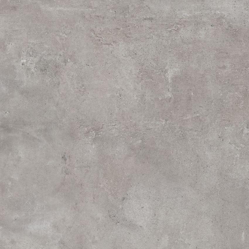 Płytka ścienno-podłogowa (gr. 6 mm) 120x120 cm Cerrad Softcement silver Poler