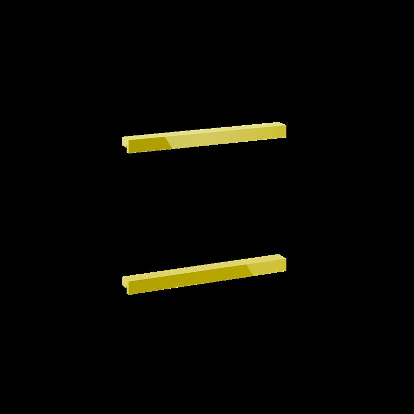 Komplet uchwytów 16 cm Elita Kwadro Plus Gold