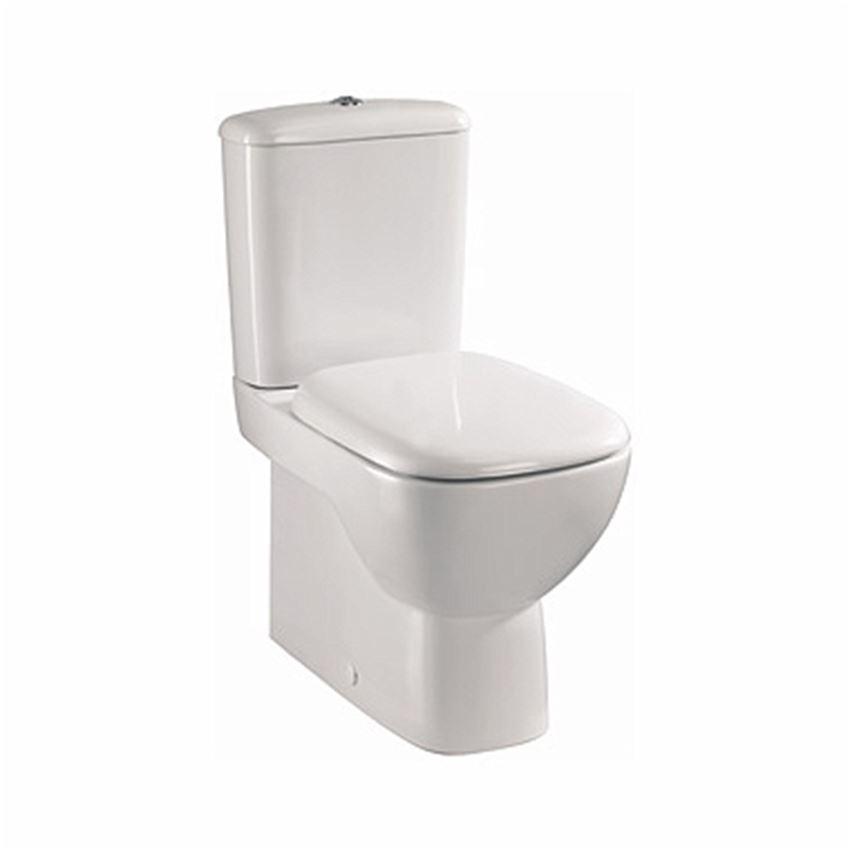 Zestaw WC kompakt Rimfree Koło Style