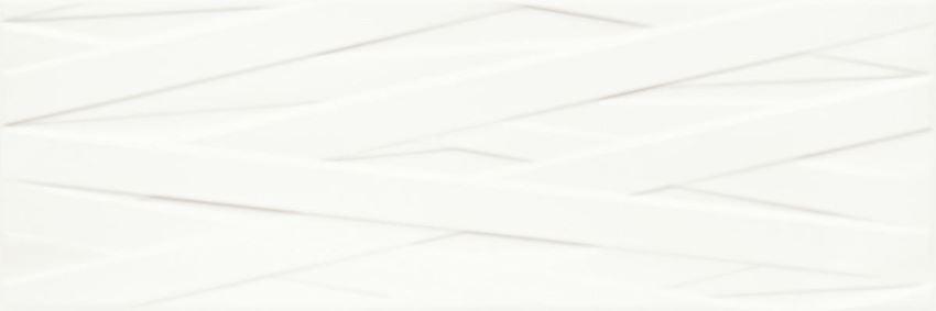 Płytka ścienna 25x75 cm Paradyż Elia Bianco struktura B