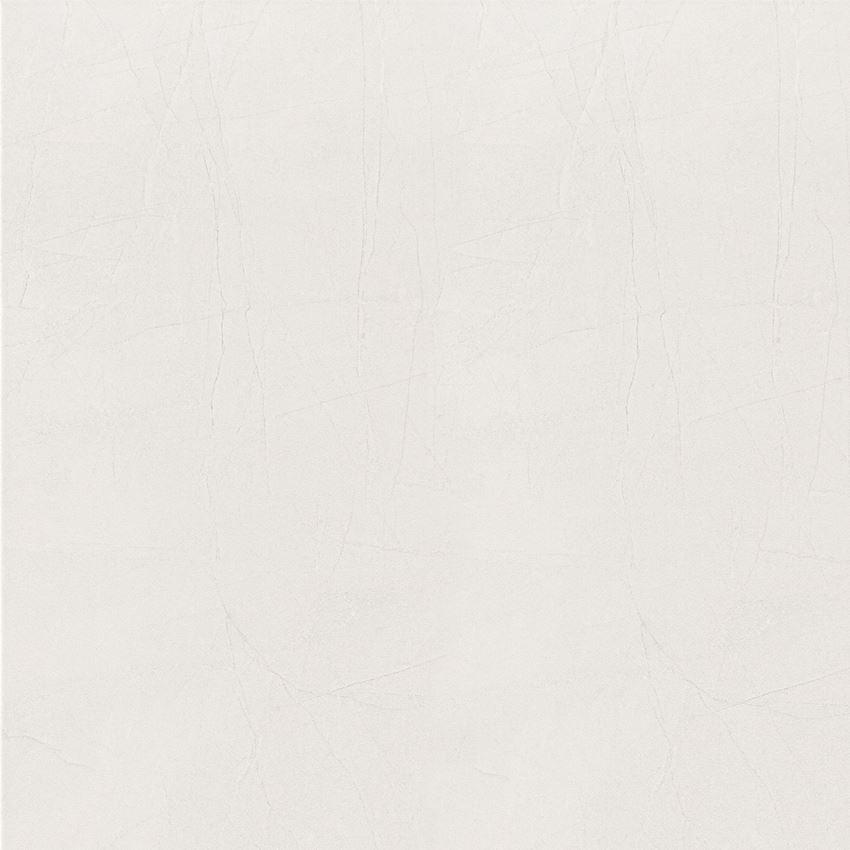 Płytka podłogowa gres szkliwiony 45x45 cm Domino Idylla White