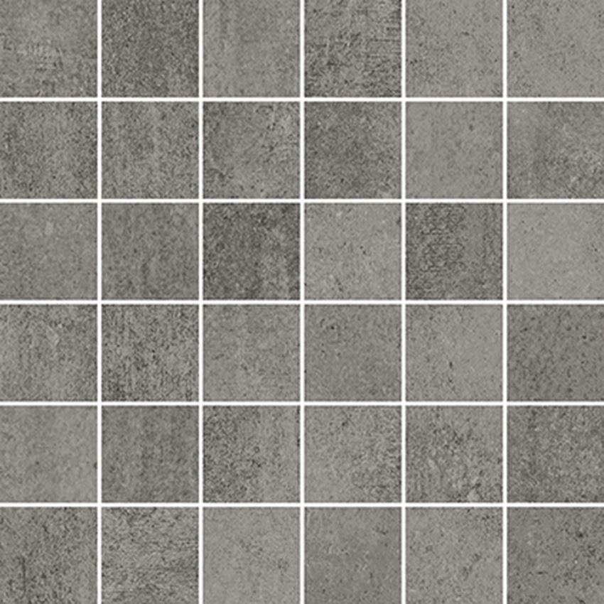 Mozaika 29,8x29,8 cm Opoczno Grava Grey Mosaic Matt