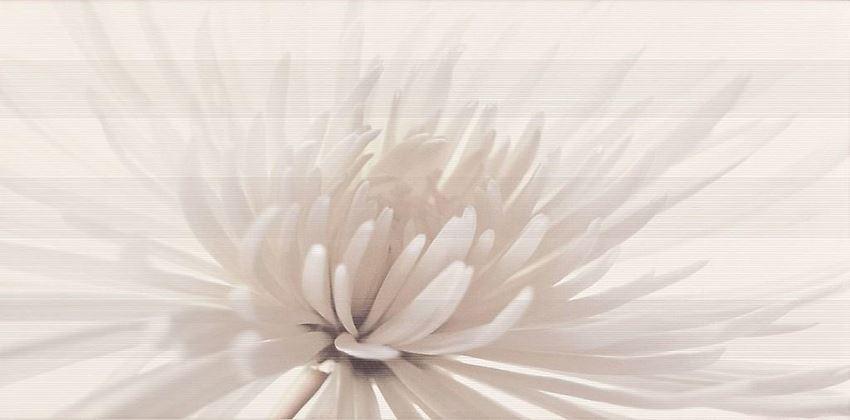 Dekor  ścienny Opoczno Avangarde White Inserto Flower OD352-001