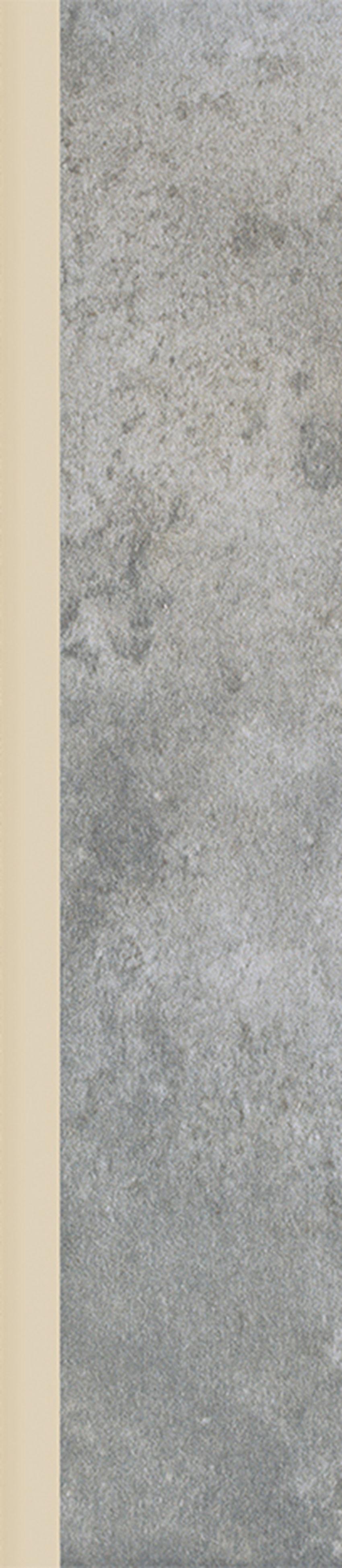 Płytka cokołowa 7,2x33 cm  Paradyż Corrado Grafit Cokół Mat
