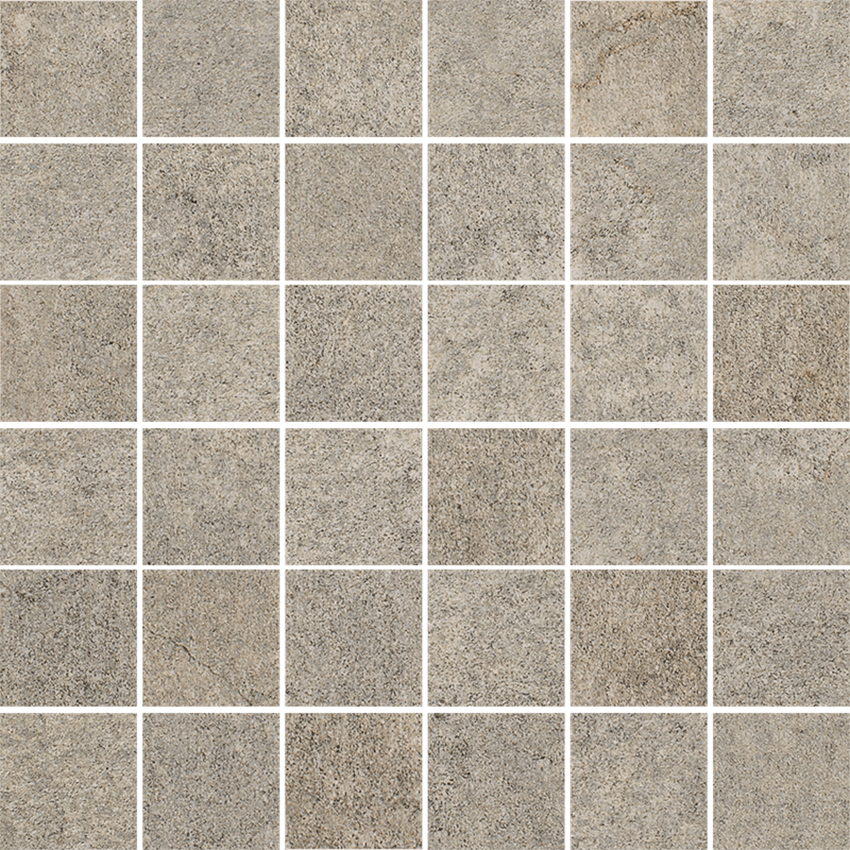 Mozaika 29,8x29,8 cm Paradyż Riversand Umbra Mozaika Cięta K.4,8X4,8 Półpoler