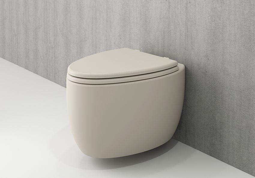 Miska WC wisząca bez deski Matt Jasmine Bocchi Etna
