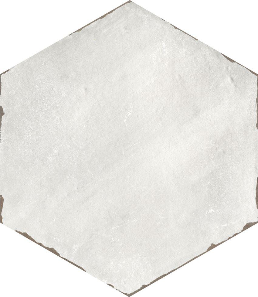Płytka dekoracyjna 14x16 cm Azario Capri Rassa Grey Gres Mat.