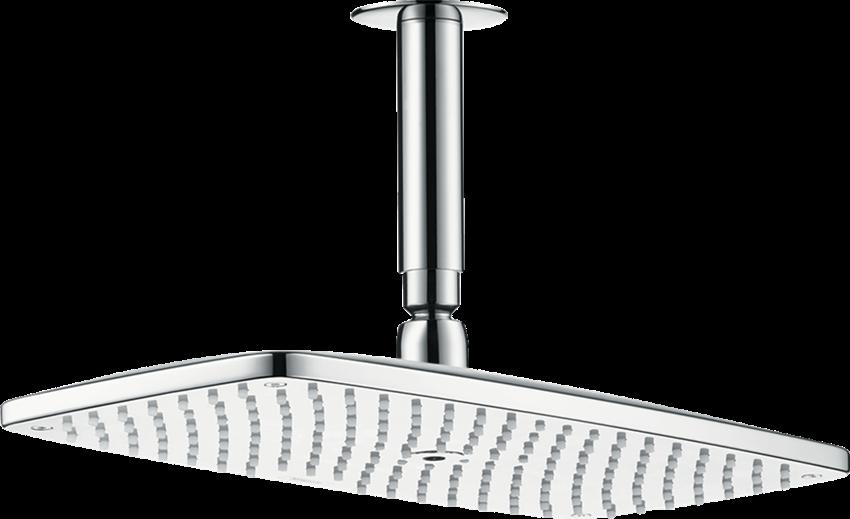 Głowica prysznicowa 360 1jet EcoSmart 9 l/min z przyłączem sufitowym Hansgrohe Raindance E