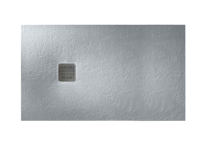 Brodzik kompozytowy STONEX® 160x100x3,1 cm szary cement Roca Terran