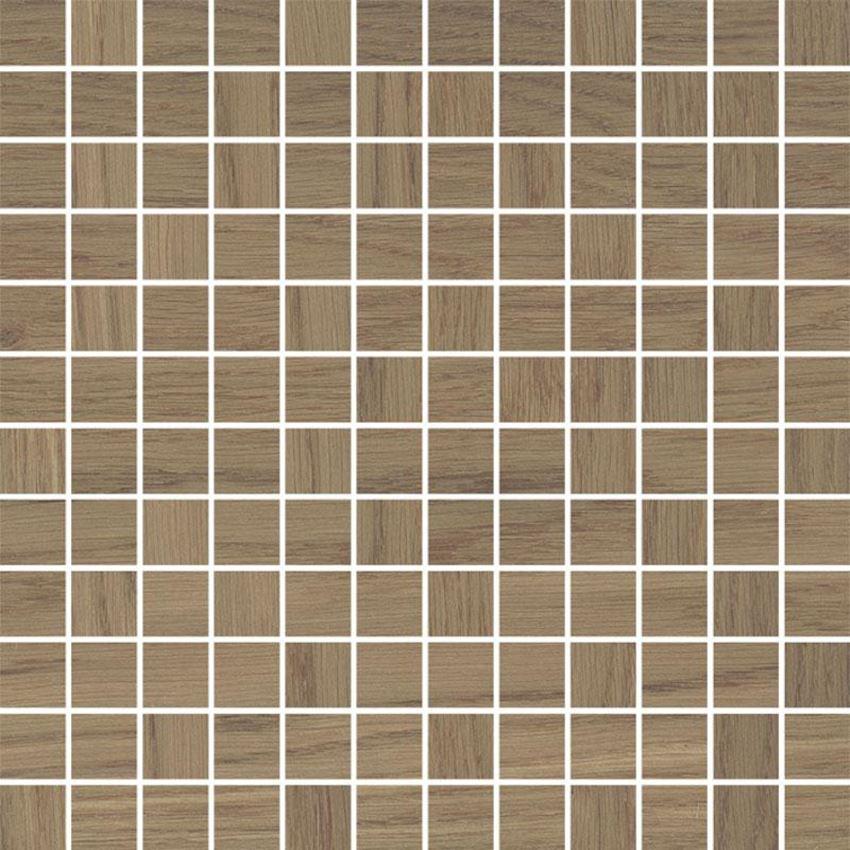 Mozaika cięta 29,8x29,8 cm Paradyż Amiche Brown