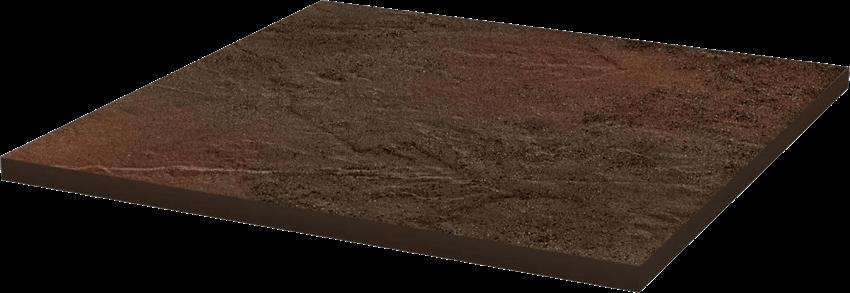 Płytka podłogowa 30x30 cm Paradyż Semir Brown Klinkier