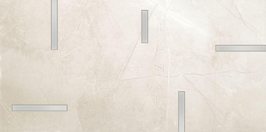 Dekor ścienny 29,8x59,8 cm Tubądzin Muse Geo 2