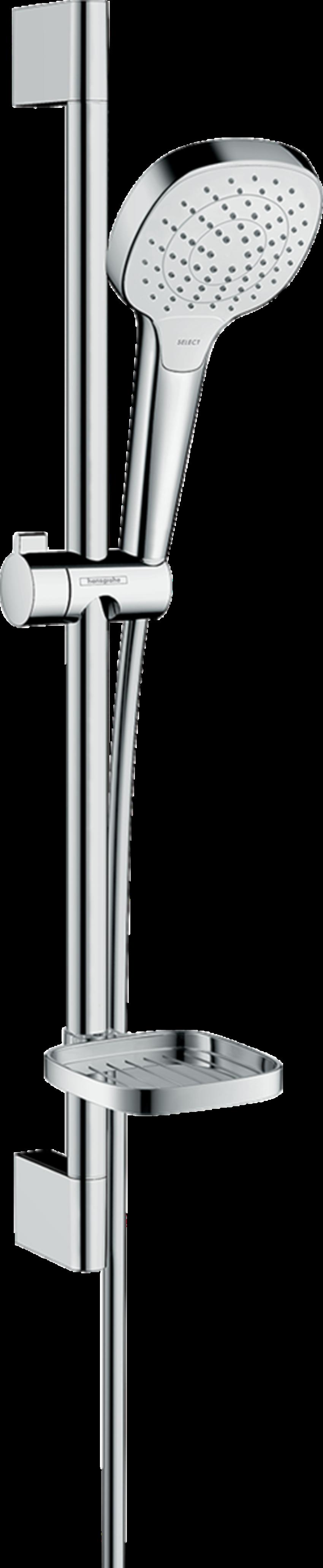 Zestaw prysznicowy Vario z mydelniczką Hansgrohe Croma Select E