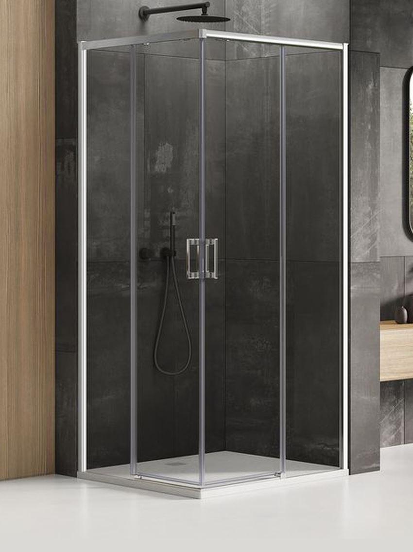 Kabina prysznicowa podwójne drzwi New Trendy Prime