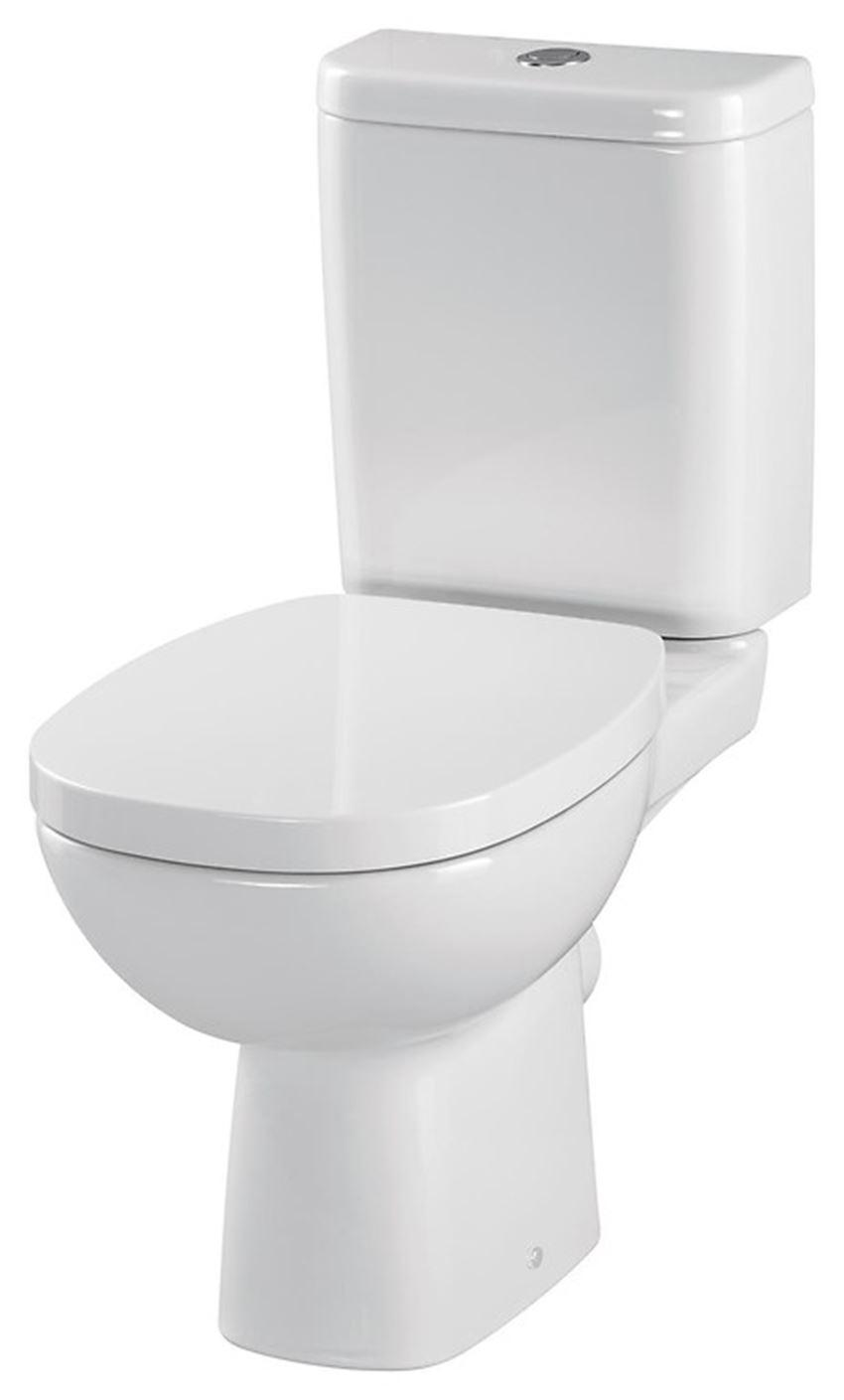 WC kompakt z deską duroplastową Cersanit Facile