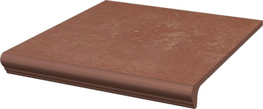 Płytka podłogowa 29,9x33 cm Paradyż Cotto Naturale Kapinos Stopnica Prosta