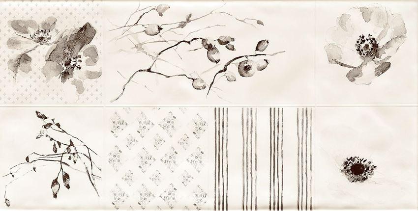 Dekoracja ścienna60,8x30,8 cm Tubądzin Amalia 2 STR