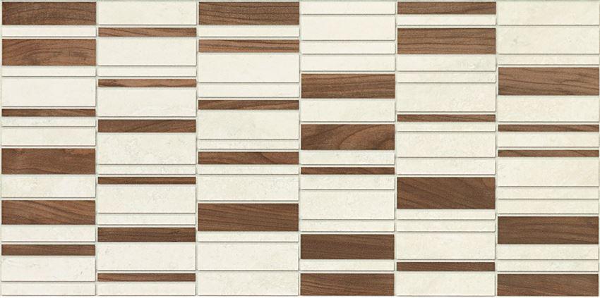 Dekor ścienny 44,8x22,3 cm Domino Enna wood