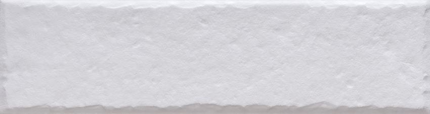 Płytka elewacyjna 6,5x24,5 cm Cerrad Foggia bianco