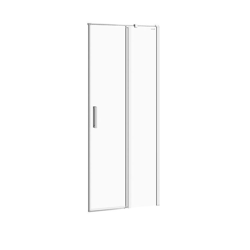 Drzwi prysznicowe prawe 80x195 cm Cersanit Moduo