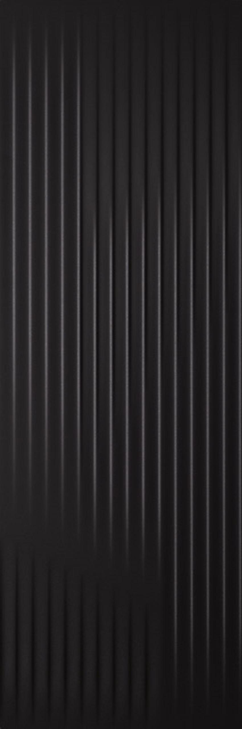 Płytka ścienna 39,8x119,8 cm Paradyż Cold Princess Black Ściana Struktura Rekt.