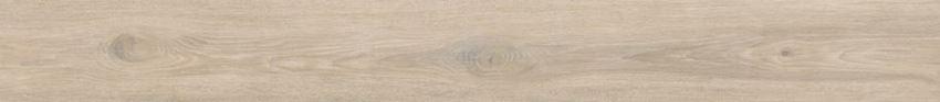 Płytka ścienno-podłogowa 19,8x179,8 cm Paradyż Heartwood Latte Gres Szkl. Rekt. Struktura Mat.