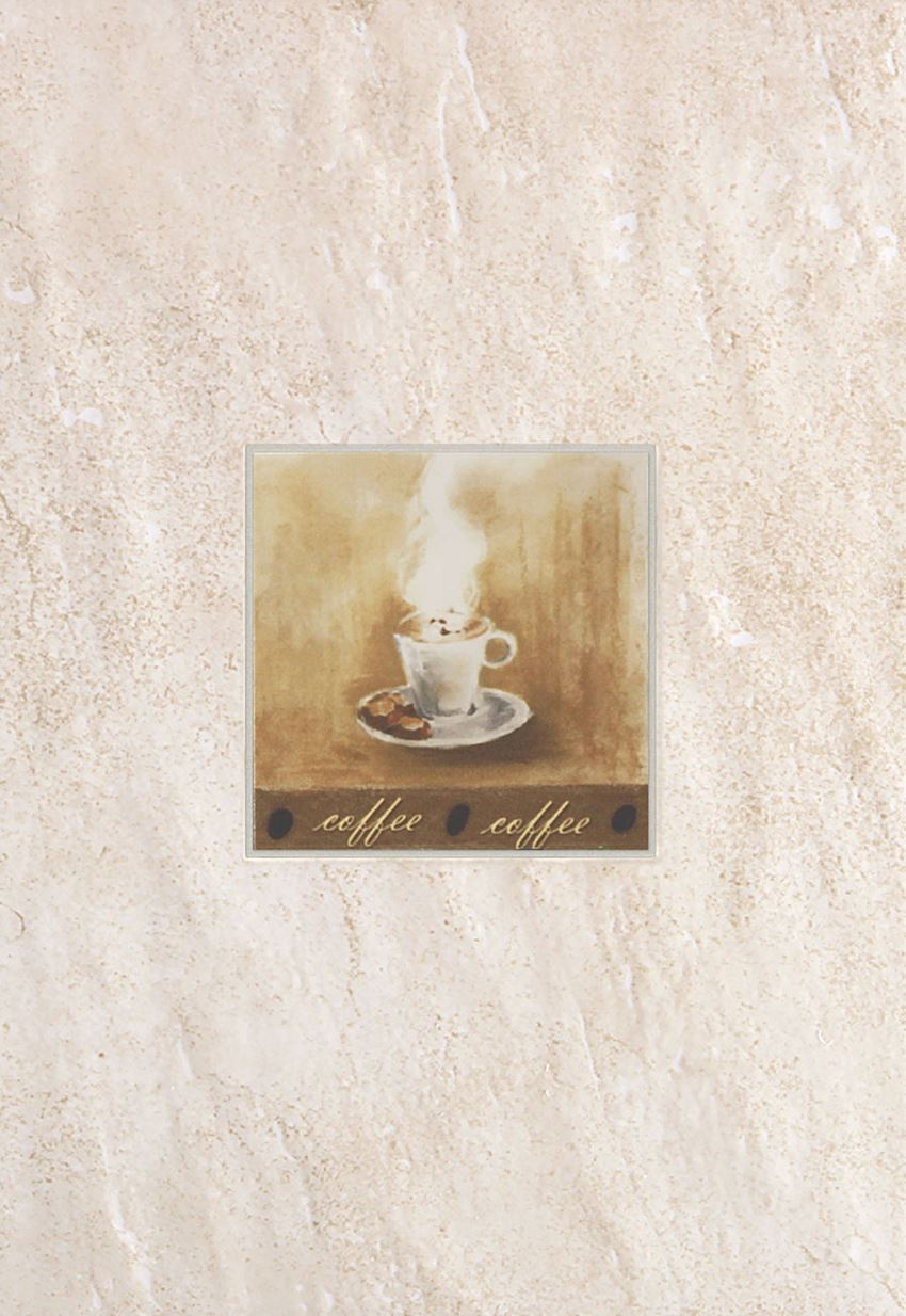 Dekor ścienny 36x25 cm Domino Syria Coffe Bar 1