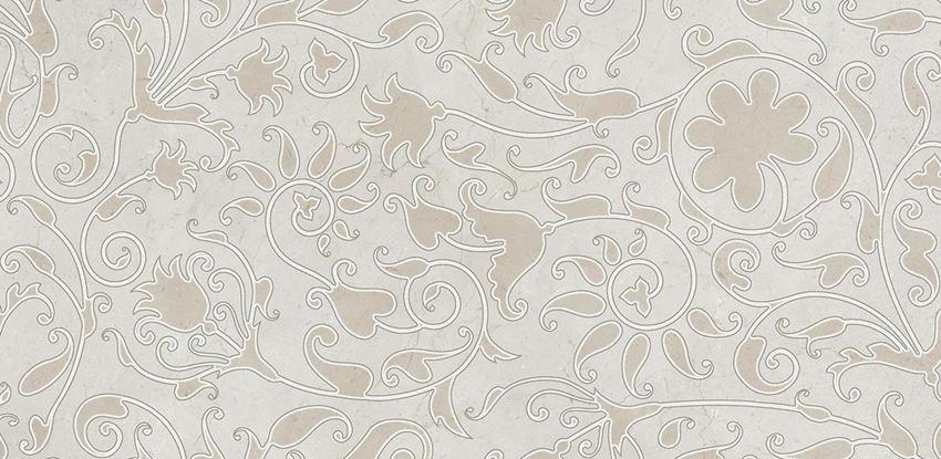 Płytka dekoracyjna 29x59,3 cm Opoczno Light Marble Grey Inserto Classic