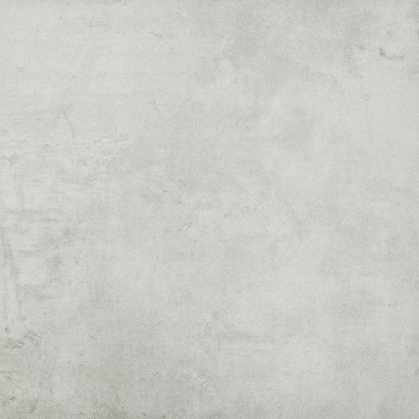 Płytka ścienno-podłogowa 75x75 cm Paradyż Scratch Bianco Gres Szkl. Rekt. Mat.