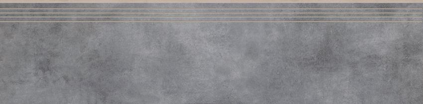Płytka stopnicowa 29,7x119,7 cm Cerrad Batista steel