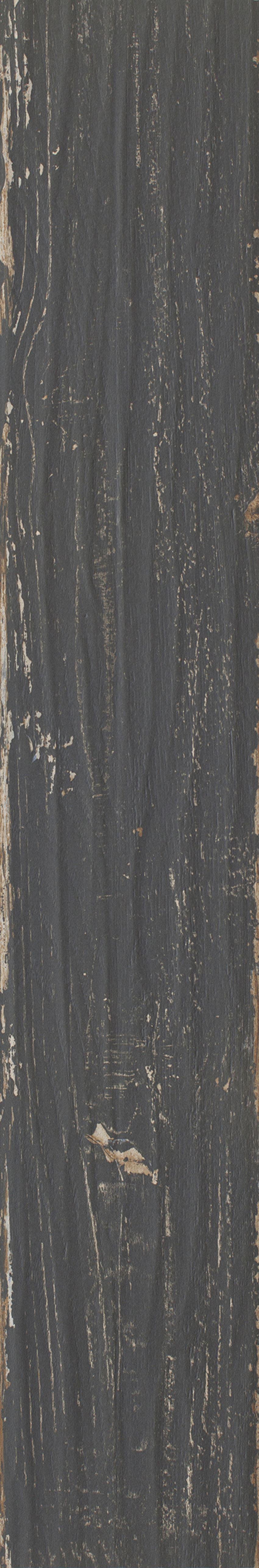 Płytka ścienno-podłogowa 14,8x89,8 cm Paradyż Herrera Nero Gres Szkl. Rekt. Mat.