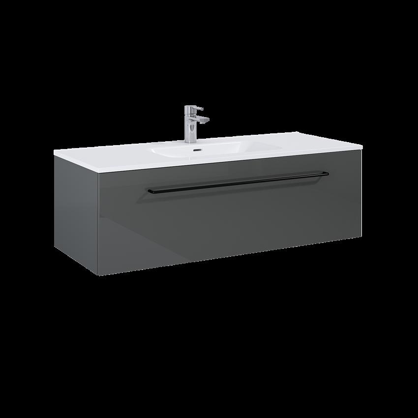 Szafka podumywalkowa 120 cm Elita Futuris 120 1S Anthracite