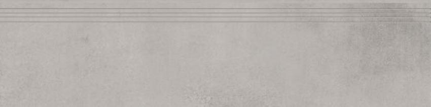Płytka stopnicowa 29,7x119,7 cm Cerrad Concrete grey