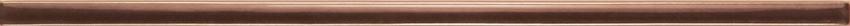 Listwa ścienna 36x10 cm Domino Cado brąz
