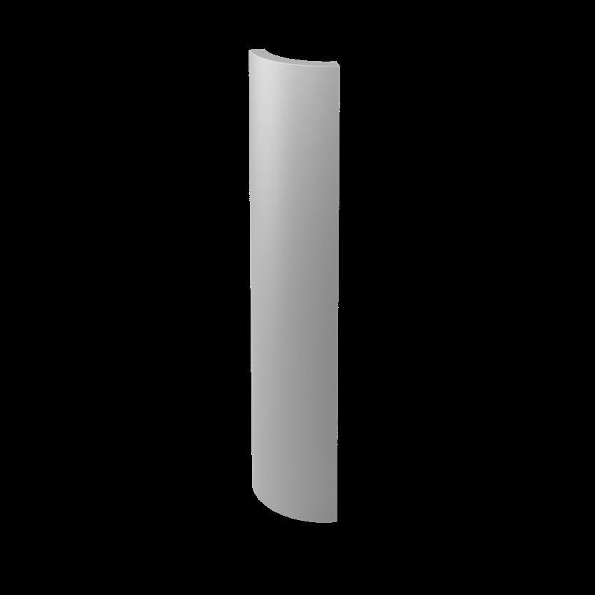 Płytka dekoracyjna3x19,8 cm Paradyż Gamma Szara Kształtka B Mat