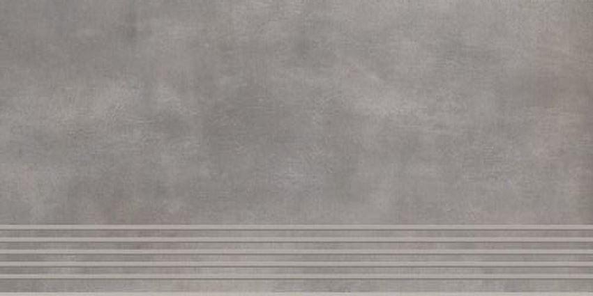 Paradyż Tecniq Silver stopnica mat
